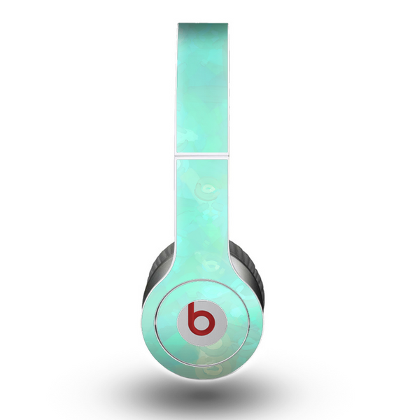 The Bright Teal WaterColor Panel Skin for the Beats by Dre ...