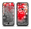 The Bright Unfocused White & Red Love Dots Apple iPhone 6/6s LifeProof Fre Case Skin Set