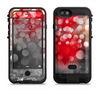 The Bright Unfocused White & Red Love Dots Apple iPhone 6/6s LifeProof Fre POWER Case Skin Set