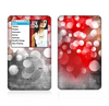 The Bright Unfocused White & Red Love Dots Skin For The Apple iPod Classic