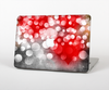 The Bright Unfocused White & Red Love Dots Skin for the Apple MacBook Pro 13""