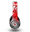 The Bright Unfocused White & Red Love Dots Skin for the Original Beats by Dre Studio Headphones