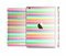 The Bright Vector Striped Full Body Skin Set for the Apple iPad Mini 3
