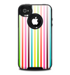 The Bright Vector Striped Skin for the iPhone 4-4s OtterBox Commuter Case