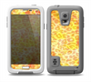 The Bright Yellow and Orange Leopard Print Skin Samsung Galaxy S5 frē LifeProof Case