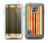 The Brightly Colored Vertical Grungy Stripes Skin Samsung Galaxy S5 frē LifeProof Case