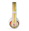 The Brightly Colored Vertical Grungy Stripes Skin for the Beats by Dre Studio (2013+ Version) Headphones