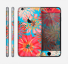 The Brightly Colored Watercolor Flowers Skin for the Apple iPhone 6