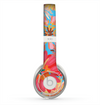 The Brightly Colored Watercolor Flowers Skin for the Beats by Dre Solo 2 Headphones