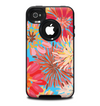The Brightly Colored Watercolor Flowers Skin for the iPhone 4-4s OtterBox Commuter Case