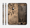 The Brown Aged Floral Pattern Skin for the Apple iPhone 6