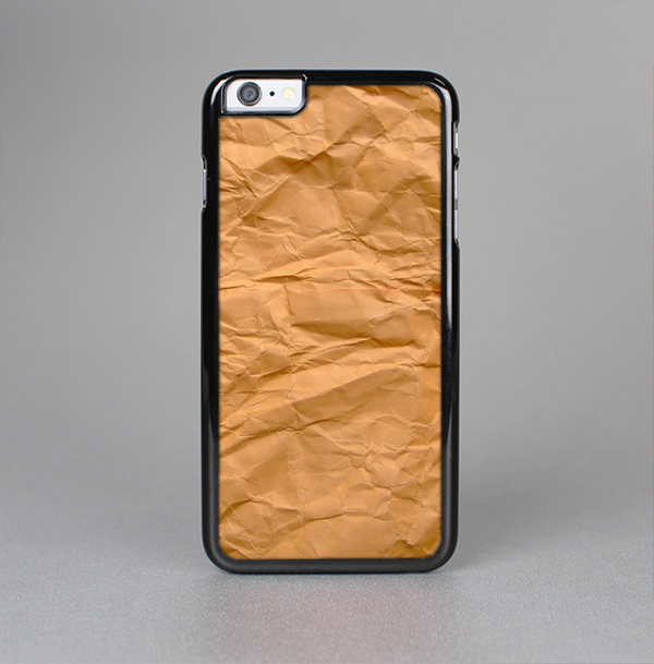 The Brown Crumpled Paper Skin-Sert Case for the Apple iPhone 6 Plus