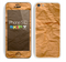 The Brown Crumpled Paper Skin for the Apple iPhone 5c