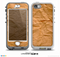 The Brown Crumpled Paper Skin for the iPhone 5-5s NUUD LifeProof Case for the lifeproof skins