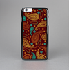 The Brown & Gold Paisley Pattern Skin-Sert Case for the Apple iPhone 6 Plus