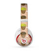 The Brown, Pink and Yellow Cupcake Collage Skin for the Beats by Dre Studio (2013+ Version) Headphones