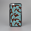 The Brown & Teal Paisley Pattern Skin-Sert Case for the Apple iPhone 6 Plus