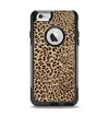 The Brown Vector Leopard Print Apple iPhone 6 Otterbox Commuter Case Skin Set