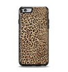 The Brown Vector Leopard Print Apple iPhone 6 Otterbox Symmetry Case Skin Set