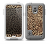 The Brown Vector Leopard Print Skin for the Samsung Galaxy S5 frē LifeProof Case