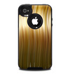 The Brown Vector Swirly HD Strands Skin for the iPhone 4-4s OtterBox Commuter Case