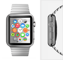 The Brushed Metal Surface Full-Body Skin Kit for the Apple Watch