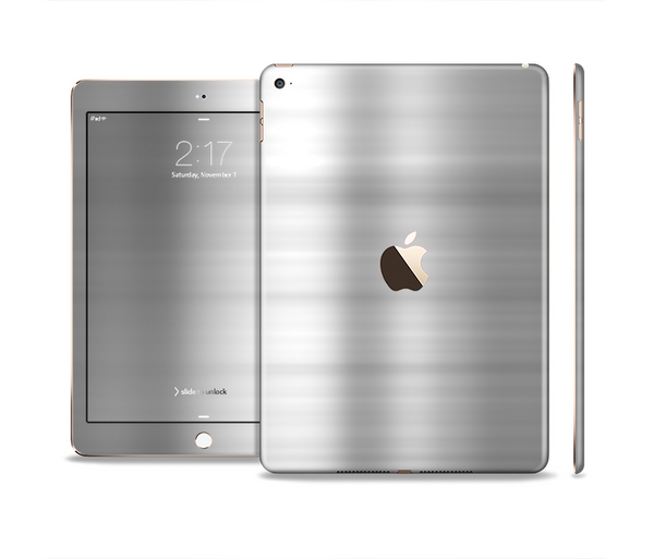 The Brushed Metal Surface Skin Set for the Apple iPad Pro