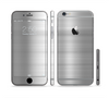The Brushed Metal Surface Sectioned Skin Series for the Apple iPhone 6