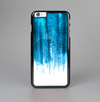 The Brushed Vivid Blue & White Background Skin-Sert Case for the Apple iPhone 6 Plus