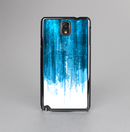 The Brushed Vivid Blue & White Background Skin-Sert Case for the Samsung Galaxy Note 3