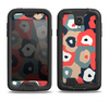 The Bulky Colorful Flowers Samsung Galaxy S4 LifeProof Fre Case Skin Set