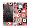 The Bulky Colorful Flowers Skin Set for the Apple iPhone 5
