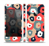 The Bulky Colorful Flowers Skin Set for the Apple iPhone 5s