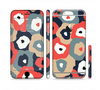 The Bulky Colorful Flowers Sectioned Skin Series for the Apple iPhone 6