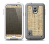 The Burlap Texture Skin Samsung Galaxy S5 frē LifeProof Case