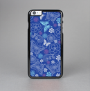 The Butterfly Blue Laced Skin-Sert Case for the Apple iPhone 6 Plus