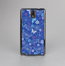 The Butterfly Blue Laced Skin-Sert Case for the Samsung Galaxy Note 3