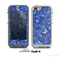 The Butterfly Blue Laced Skin for the Apple iPhone 5 NUUD LifeProof Case for the Lifeproof Skin