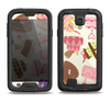 The Cakes and Sweets Pattern Samsung Galaxy S4 LifeProof Fre Case Skin Set