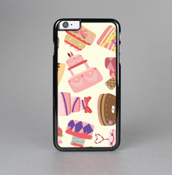 The Cakes and Sweets Pattern Skin-Sert Case for the Apple iPhone 6 Plus