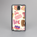 The Cakes and Sweets Pattern Skin-Sert Case for the Samsung Galaxy Note 3