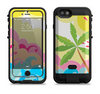 The Cartoon Bright Palm Tree Beach Apple iPhone 6/6s LifeProof Fre POWER Case Skin Set