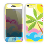 The Cartoon Bright Palm Tree Beach Skin for the Apple iPhone 5c