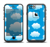 The Cartoon Cloudy Sky Apple iPhone 6/6s LifeProof Fre Case Skin Set