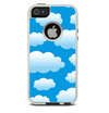 The Cartoon Cloudy Sky Skin For The iPhone 5-5s Otterbox Commuter Case