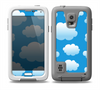 The Cartoon Cloudy Sky Skin for the Samsung Galaxy S5 frē LifeProof Case