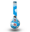 The Cartoon Cloudy Sky Skin for the Beats by Dre Mixr Headphones