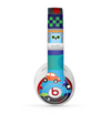 The Cartoon Colored Vector Owls with Cars Skin for the Beats by Dre Studio (2013+ Version) Headphones