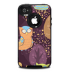 The Cartoon Curious Owls Skin for the iPhone 4-4s OtterBox Commuter Case