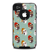 The Cartoon Snowy Colored Owls Skin for the iPhone 4-4s OtterBox Commuter Case